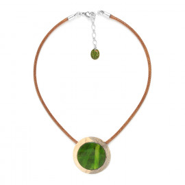collier petit pendentif Raphia - Nature Bijoux