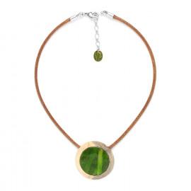 small pendant necklace Raphia - Nature Bijoux