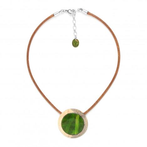 small pendant necklace Raphia