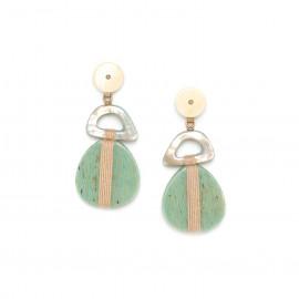 3 element earrings Seychelles - Nature Bijoux
