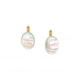 paua french hook earrings Seychelles - Nature Bijoux