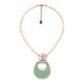 collier pendentif deux éléments Seychelles - Nature Bijoux