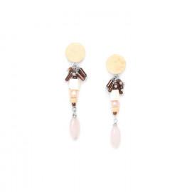 petites boucles d'oreilles Terre douce - Nature Bijoux