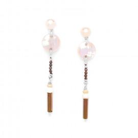 long earrings Terre douce - Nature Bijoux