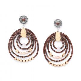 five loop earrings Terre douce - Nature Bijoux