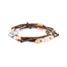 bracelet 3 tours Terre douce - Nature Bijoux