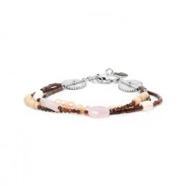 bracelet 3 rangs Terre douce - Nature Bijoux