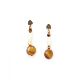 boucles d'oreilles longues Varanasi - Nature Bijoux