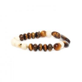 gros bracelet extensible Varanasi - Nature Bijoux