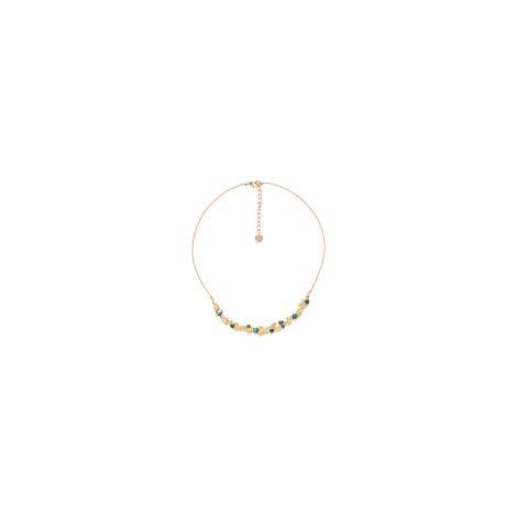 arc short necklace(verte) Becky