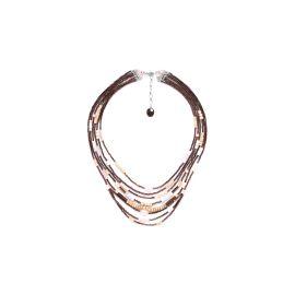 collier multi rangs Terre douce - Nature Bijoux