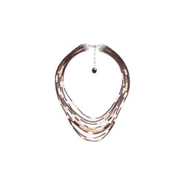 multi row necklace Terre douce - Nature Bijoux