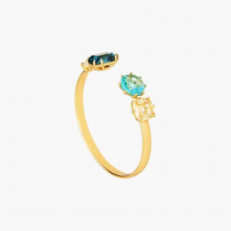 Cuff Bracelet La Diamantine Acqua Azzura La diamantine