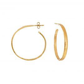 Hoops Ester Gold Medium - Joidart
