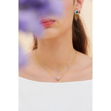 Flower pendant necklace Les nereides loves animal