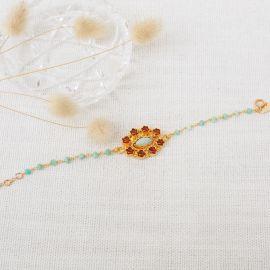CÉLINE flower bracelet - L'atelier des Dames