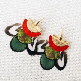 Hook earrings Byzance -