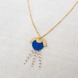 Blue NAIADE necklace -