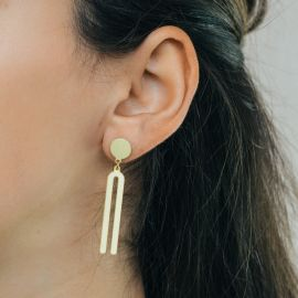 Golden Diapason earrings - RAS