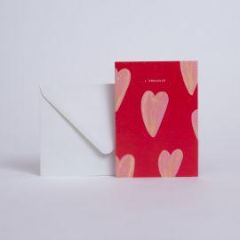Carte cœur l'amouuuur - Season Paper