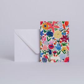 Carte à message Fleurs Sauvages - Season Paper