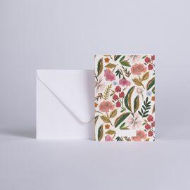Message card Herbier - Season Paper