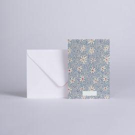 Message card Marguerite - Season Paper