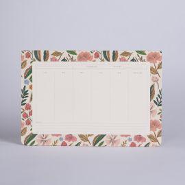 Weekly deskpad Herbier - Season Paper