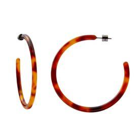 Large hoops in amber - Machete