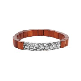red wood men bracelet Pattern - Nature Bijoux