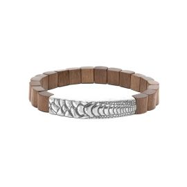 greywood men bracelet Pattern - Nature Bijoux