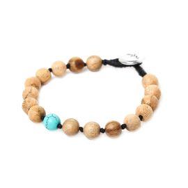 turquoise men bracelet Bouton - Nature Bijoux