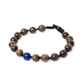lapis men bracelet Bouton - Nature Bijoux