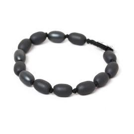 olive beads men bracelet Hematite - Nature Bijoux