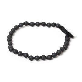 round beads men bracelet Hematite - Nature Bijoux