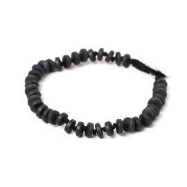small wheels men bracelet Hematite - Nature Bijoux