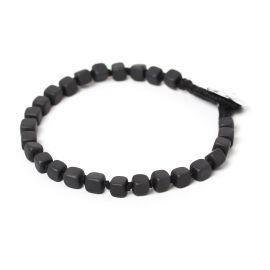 cubes men bracelet Hematite - Nature Bijoux