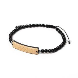 beige men bracelet Serpent - Nature Bijoux