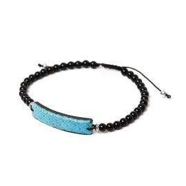 turquoise men bracelet Serpent - Nature Bijoux