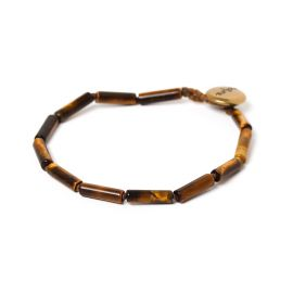tubes men bracelet Tiger eye - Nature Bijoux