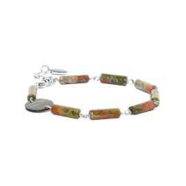 unakite bracelet Looping - Nature Bijoux