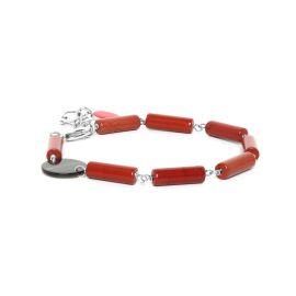 red jasper bracelet Looping - Nature Bijoux