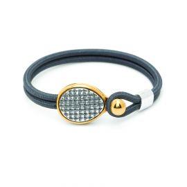 """bracelet sandow """"tissage"""" Empreintes - Ori Tao"""
