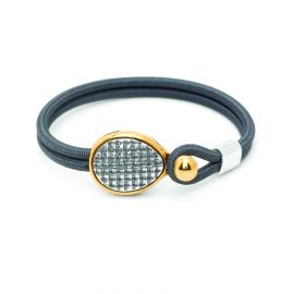 "sandow bracelet ""weaving"" Empreintes - Ori Tao"