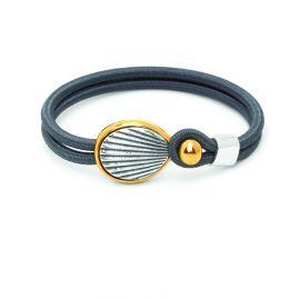 "sandow bracelet ""ridges"" Empreintes - Ori Tao"