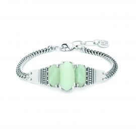 bracelet 3 cabochons Amazonite Diam's - Ori Tao