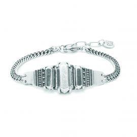 bracelet 3 cabochons argentés Diam's - Ori Tao