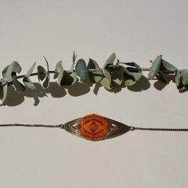 KALEIDOSCOPE orange bracelet - Amélie Blaise