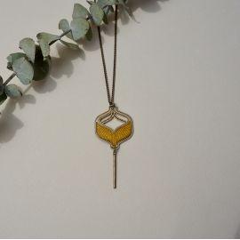 TOHU BOHU necklace wood - Amélie Blaise