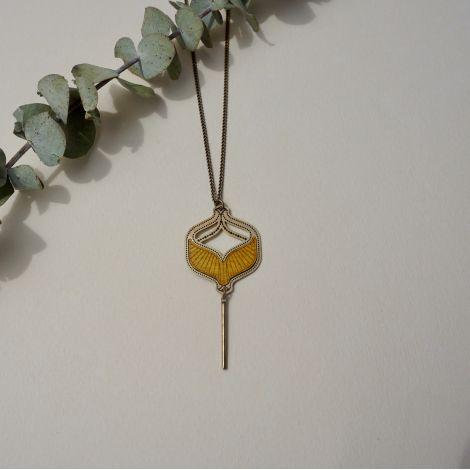 TOHU BOHU necklace wood